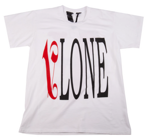 Vlone x Palm Angels White Tee