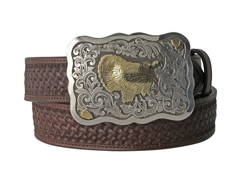 Richard Stump Wild Turkey Belt Buckle