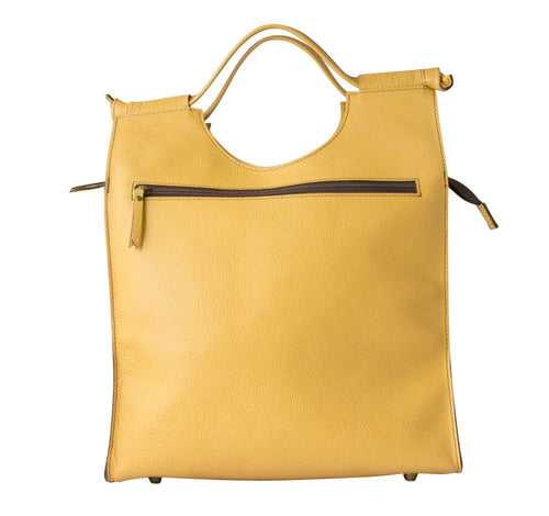 Abbie Caplin Leather Shoulder Bag