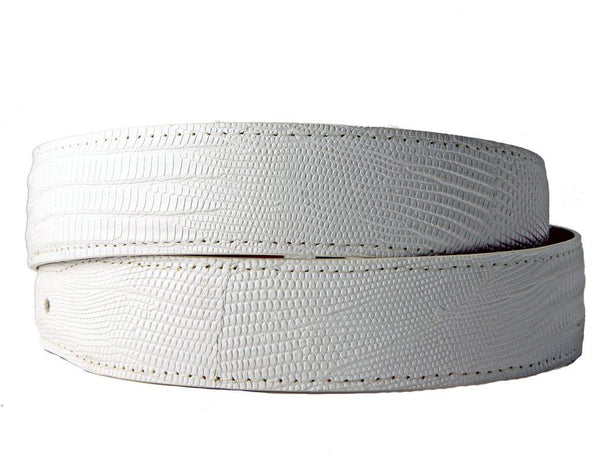 White Lizard Belt