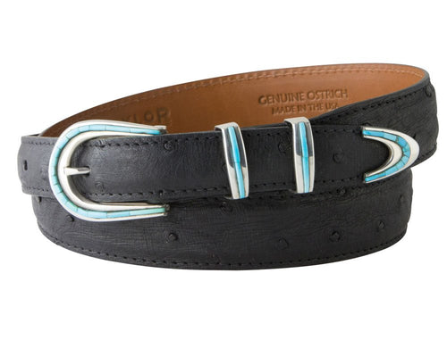 David Dear Turquoise Belt Buckle