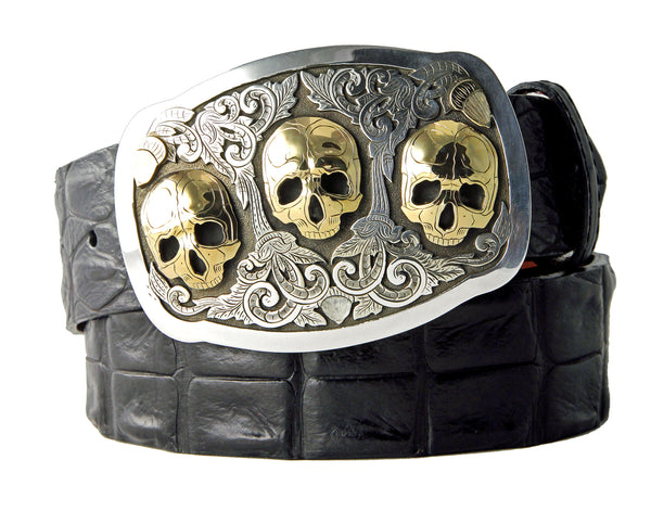 Richard Stump Skull Buckle