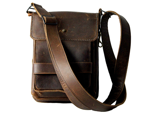 Traveler Oil Tanned Leather Bag