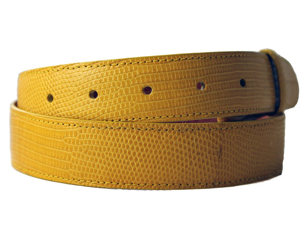 Yellow Lizard Belt