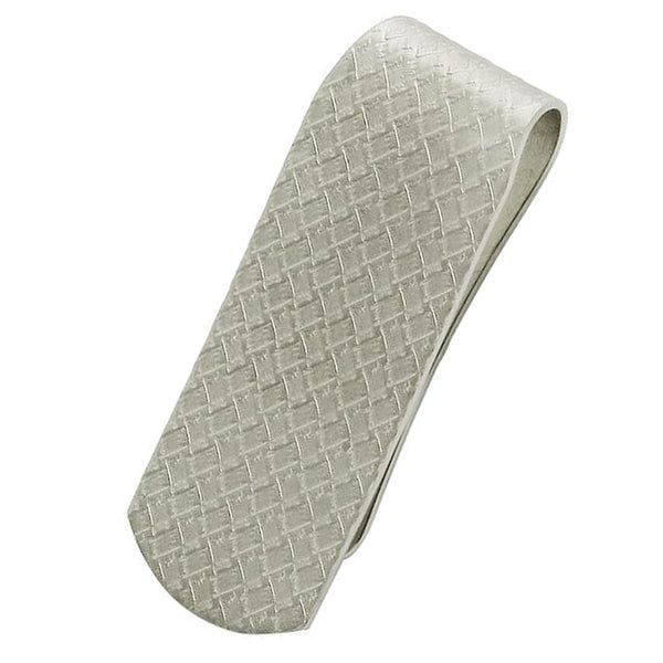 Basket Weave Money Clip
