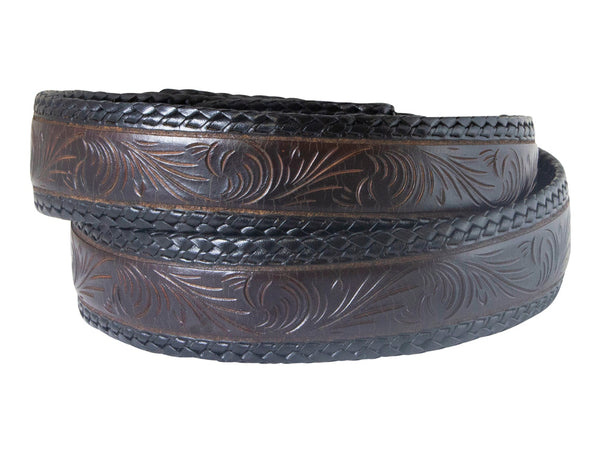 Hand Carved Western Belt