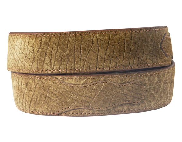 Hippo Leather Belt