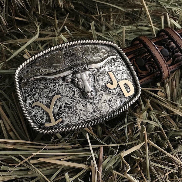 Kevin Costner Yellowstone Buckle
