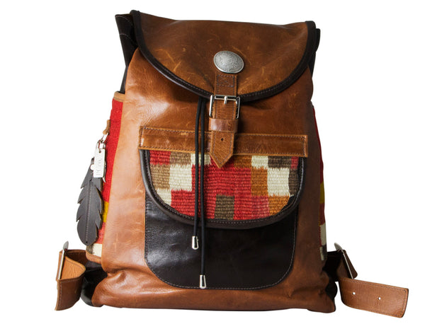 PCco Leather Backpack