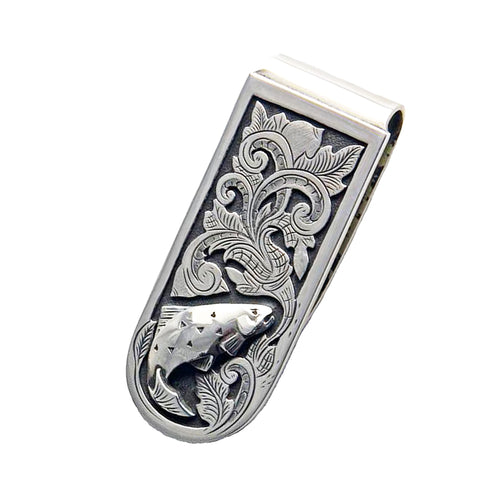 Trout Money Clip