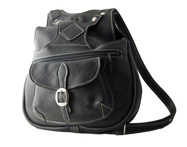 Billy Sunday Leather Backpack
