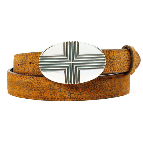 Oval Cross Buckle