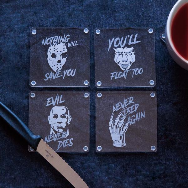 Oh the Horror! Coasters