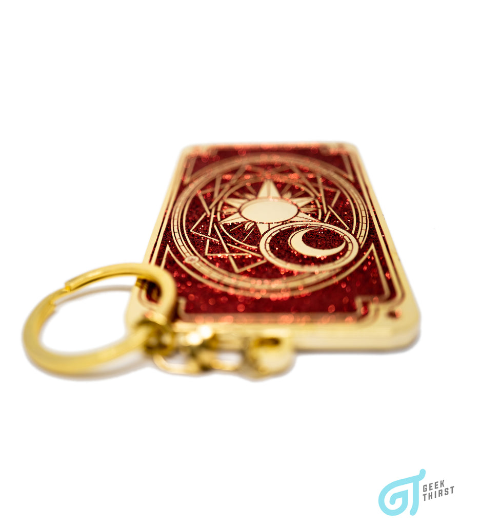 Guardian of the Clow - Clow Card Keychain