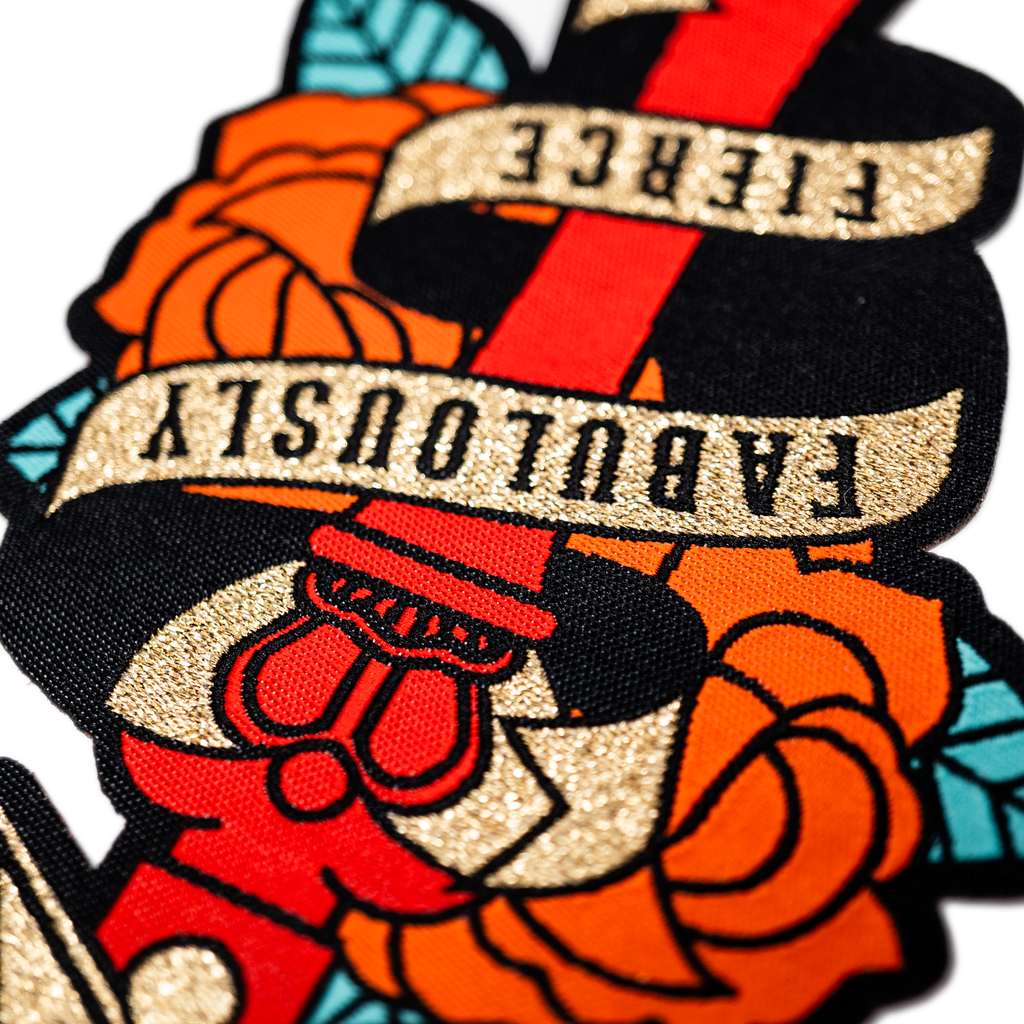 Cutthroat Cuties - Fabulously Fierce Patch