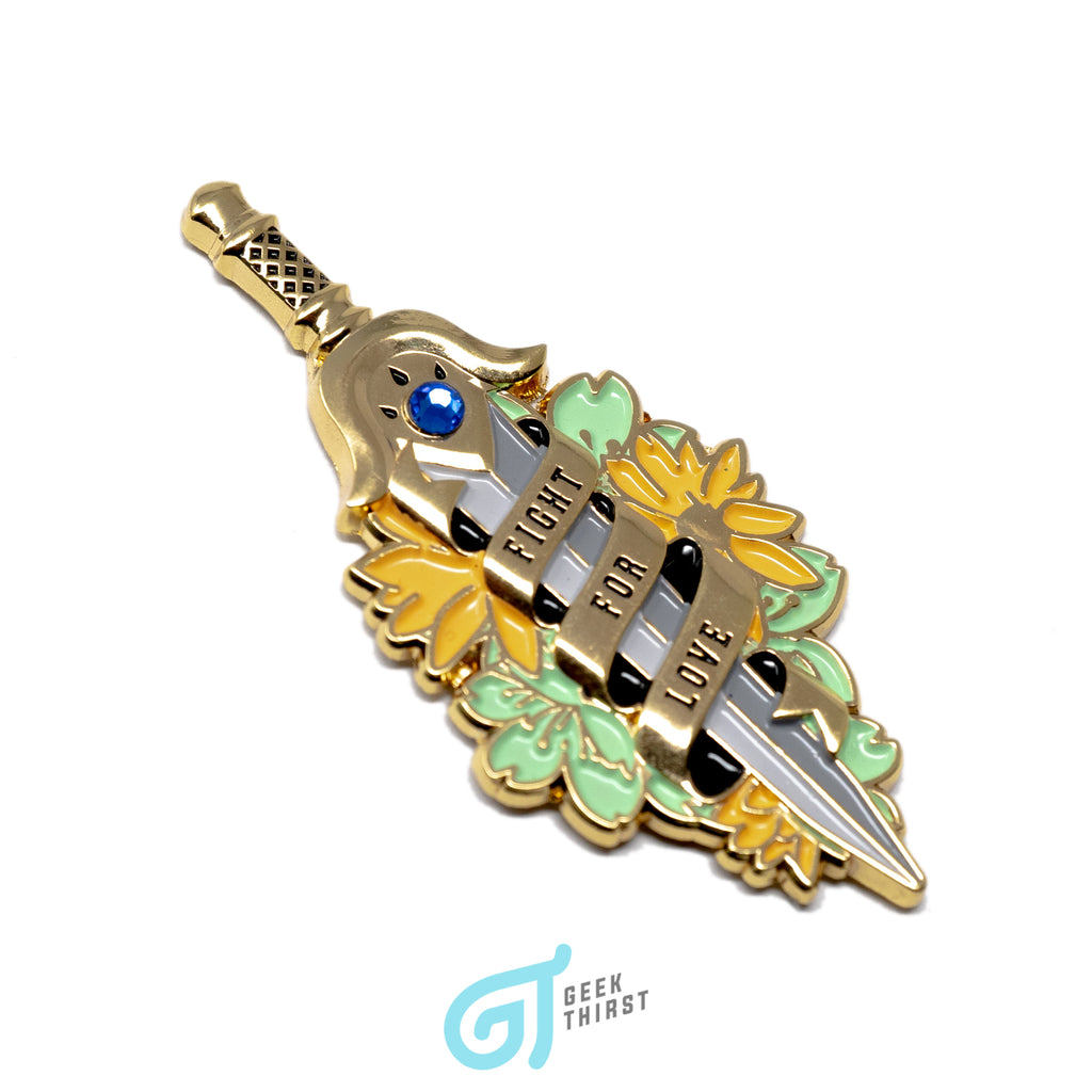 Guardian of the Clow - Fight For Love Pin