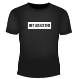 Get Adjusted Black T-Shirt