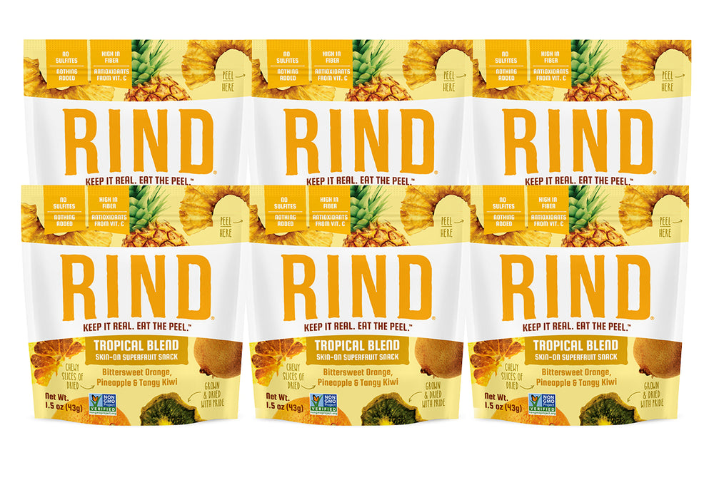 Rind Snacks<sup>™</sup> Tropical Blend Single Serve 6-Pack