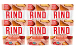 Rind Snacks<sup>™</sup> Straw-Peary Blend Single Serve Pouches, Pack of 6