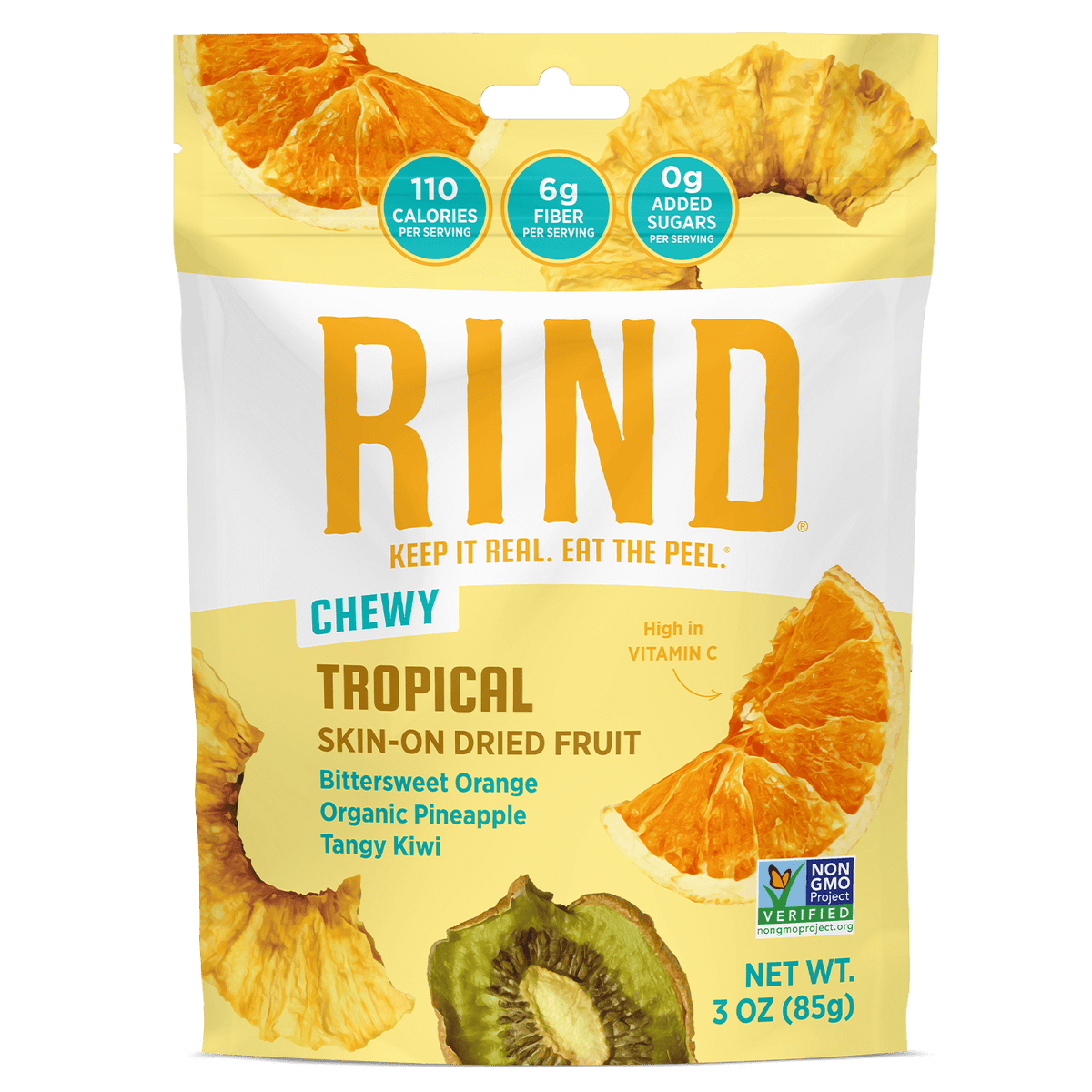 Rind Tropical Skin-On Dried Fruit