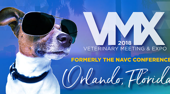 Feb 3-7: ElleVet will be exhibiting at the 2018 VMX Veterinary Meeting & Expo in Orlando