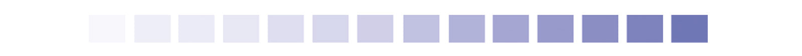 spectrum of purple rectangles