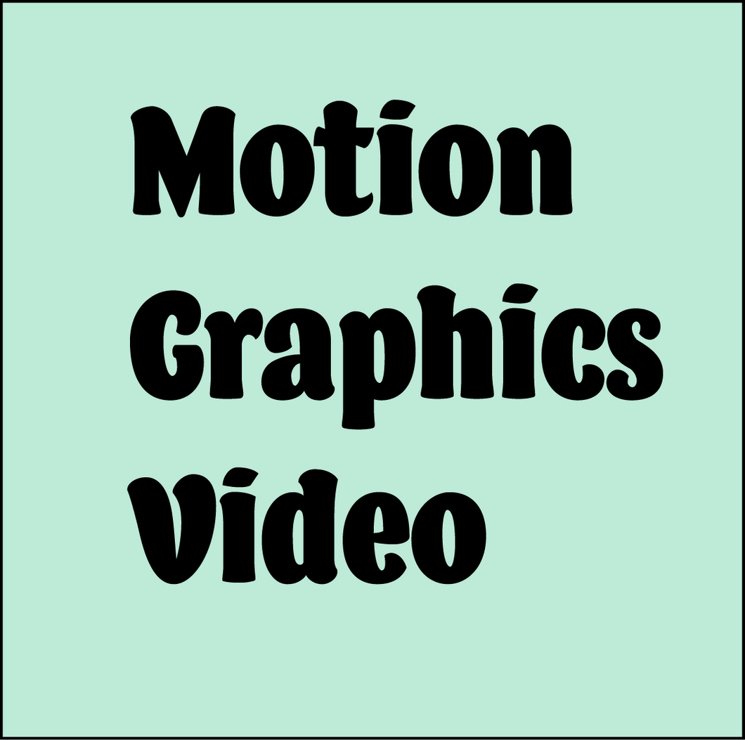 Facebook Special on Motion Graphics Videos