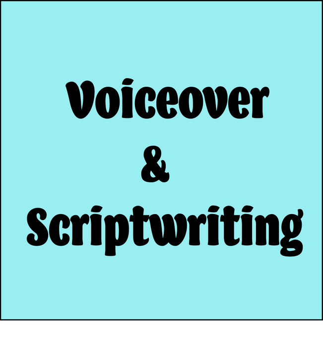 Voiceover and Scriptwriting Add-Ons