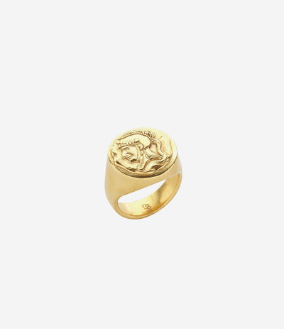 Gold Spartan Ring
