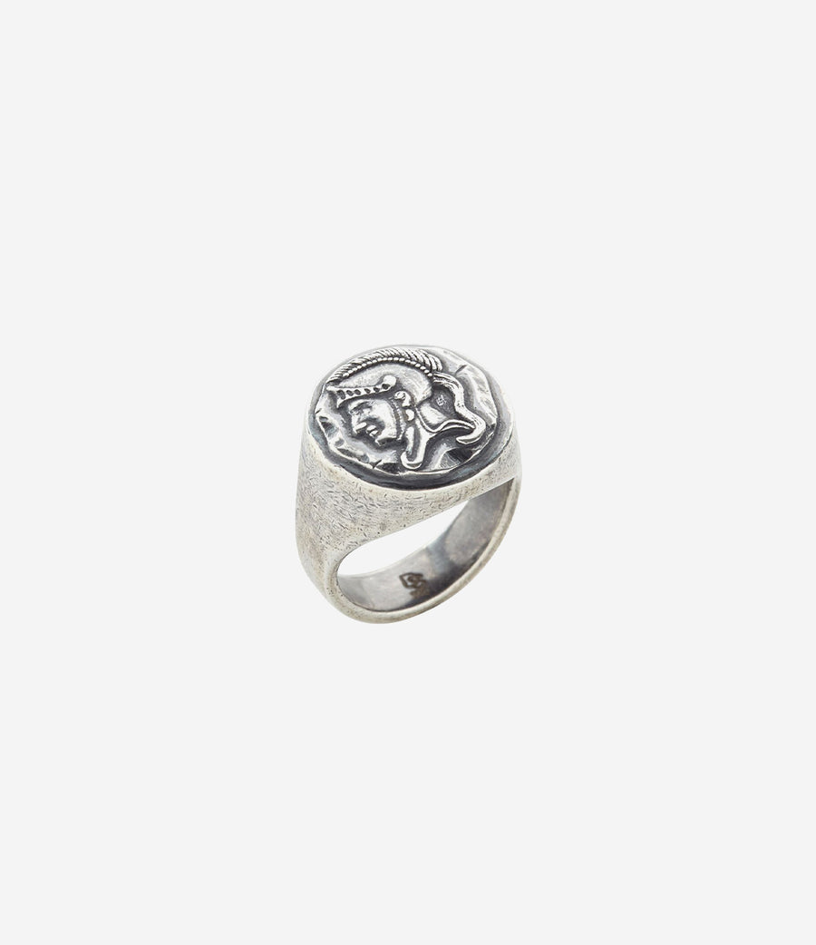 Sterling Silver Spartan Ring