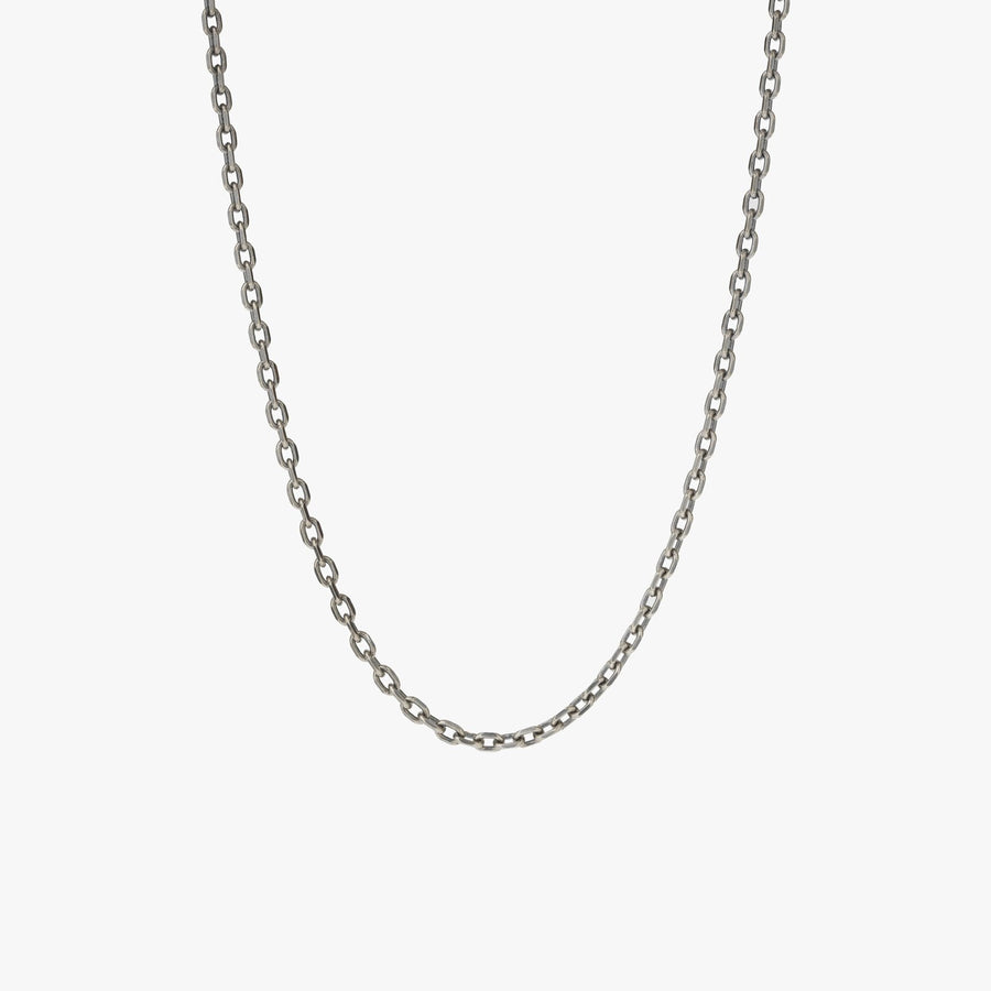 Sterling Silver Knife Edge Chain