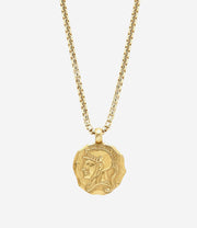 Gold Spartan Necklace