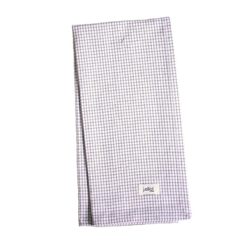 Alvin Charcoal Check Tea Towel