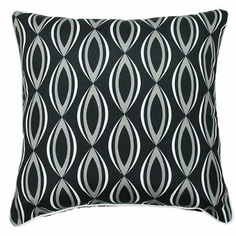 BYRON 45CM OUTDOOR CUSHION CHARCOAL
