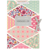 Vintage Fabric & Flowers Scented Drawer Liners