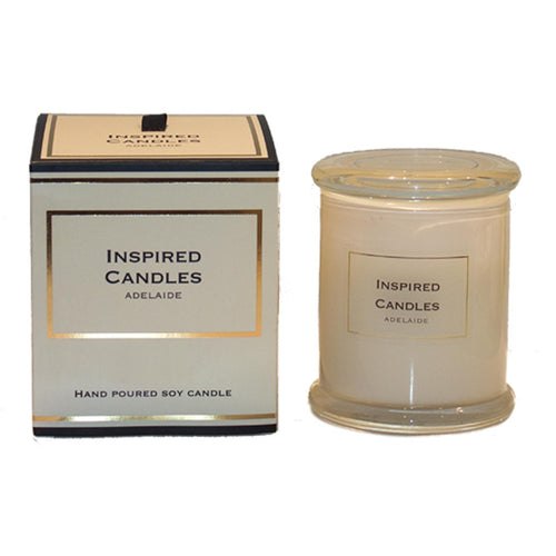 INSPIRED CANDLES SOY CANDLE JAR 250GM