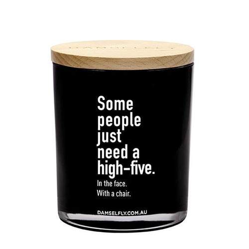 High Five With A Chair Candle 400g
