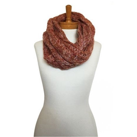 Red & Tan Snood