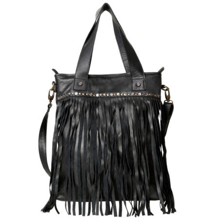 GIANA TASSEL BAG BLACK