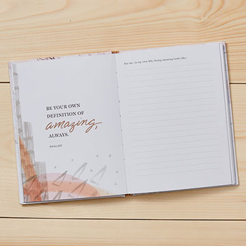 An Inspired Life Hardcover Journal