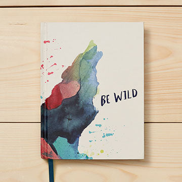 Be Wild Hardcover Journal