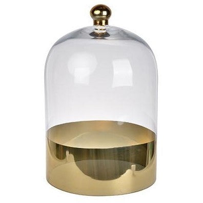 Glass Gold Dome