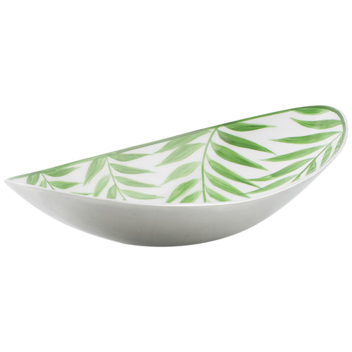 Aluminium Palm Oval Bowl