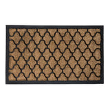 BRUSH MOULDED DOOR MAT 45X75CM ASSORTED