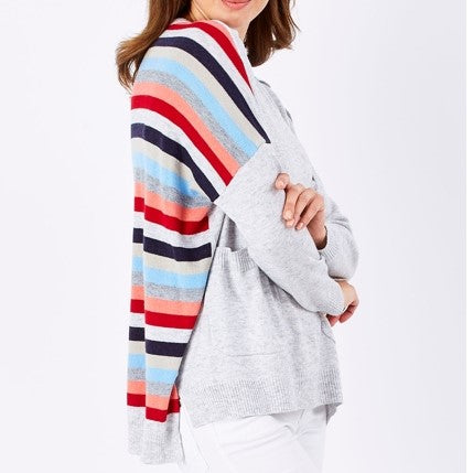 CLARITY STRIPE BACK KNIT