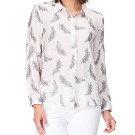 CLARITY ANIMAL PRINT TOP