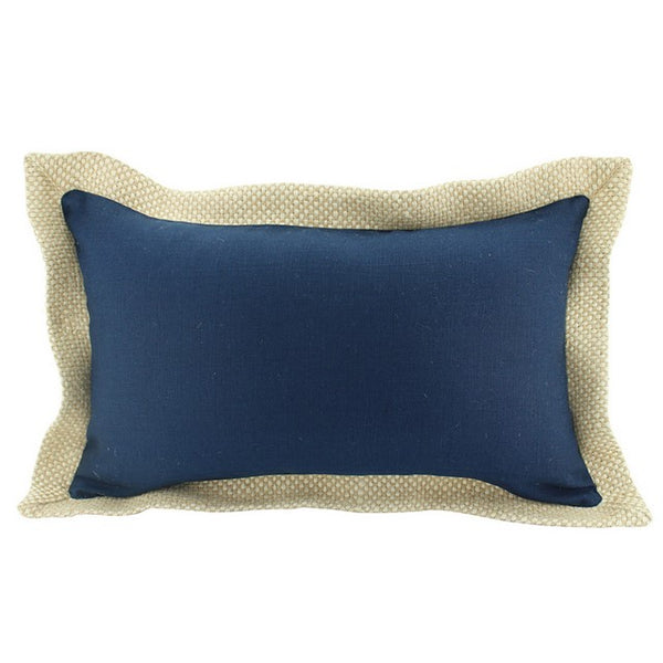 Jute Border Bolster Cushion