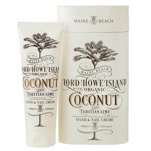 COCONUT HAND & NAIL CREME 100ML