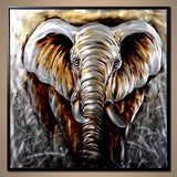 TUSKER METAL ART BLACK FRAME