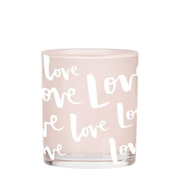 Love Print Candle 300g